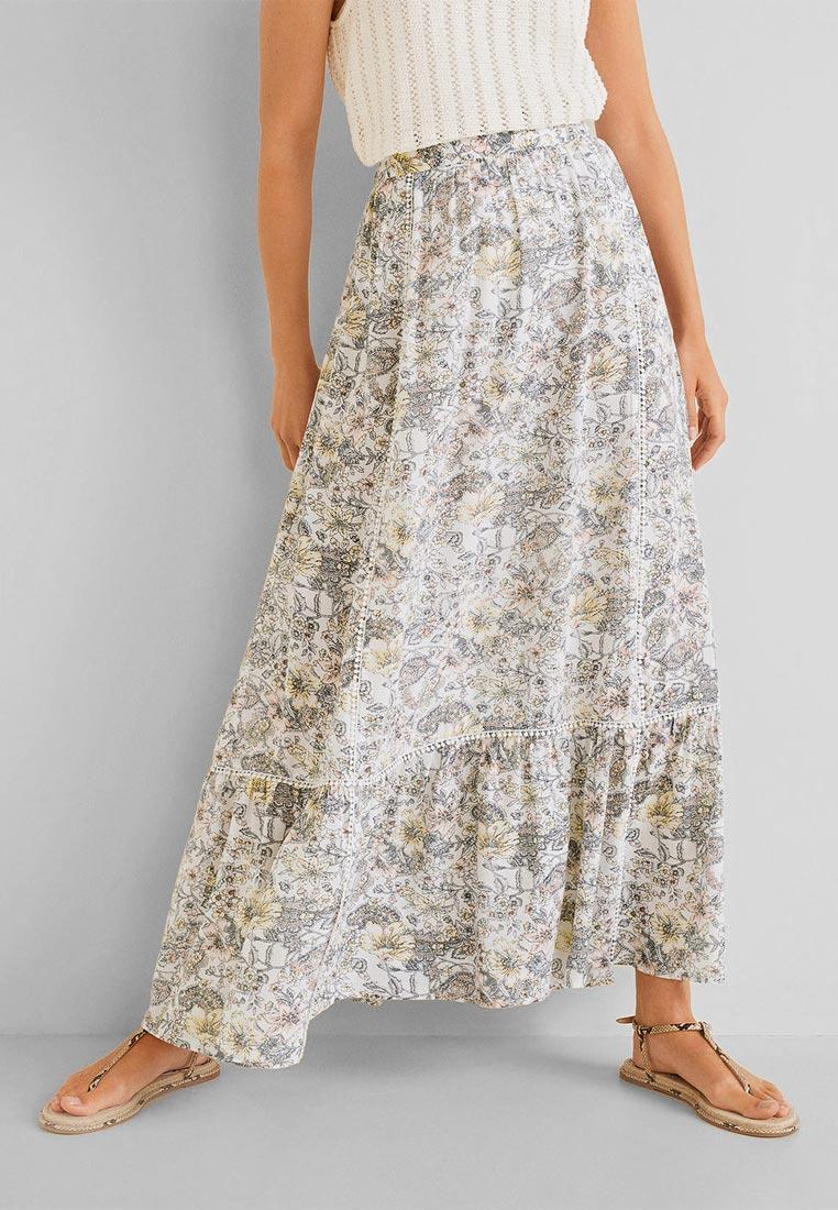 Широкая юбка Mango (Манго) 53090590