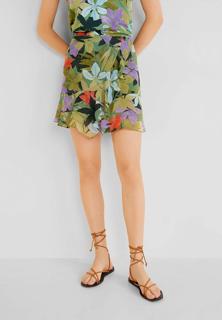 Широкая юбка Mango (Манго) 51050904