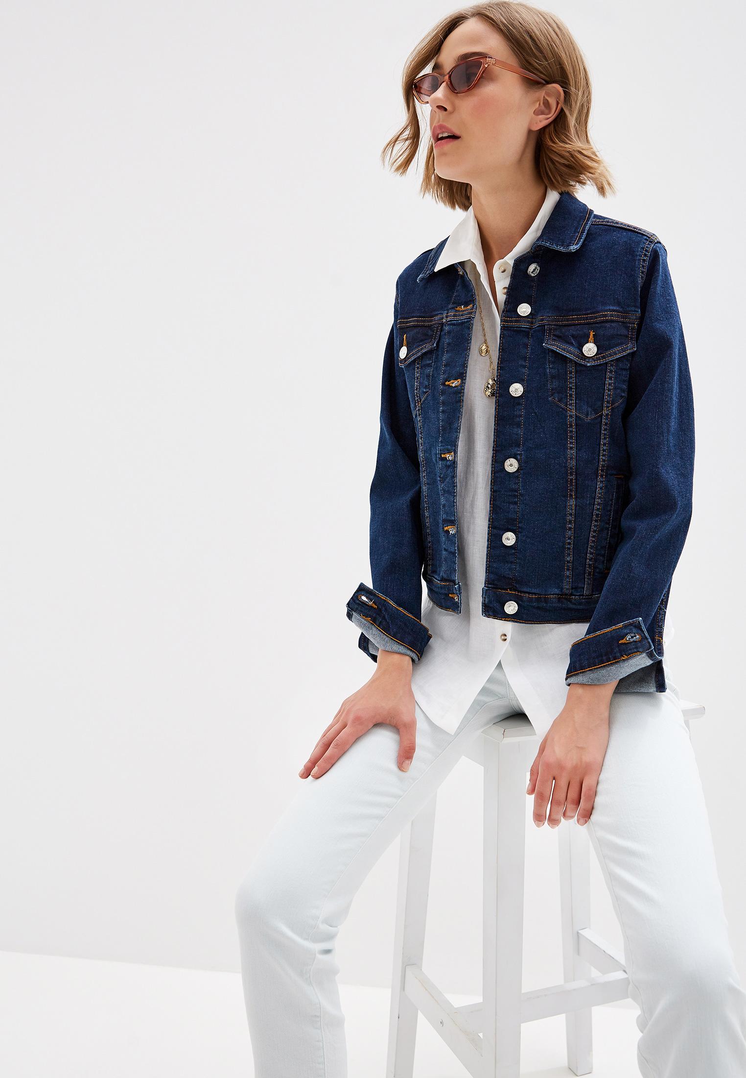 Джинсовая куртка Mango (Манго) 53050543: изображение 1