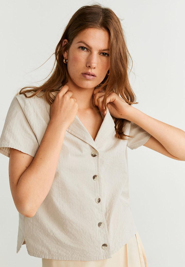 Рубашка с коротким рукавом Mango (Манго) 53041124