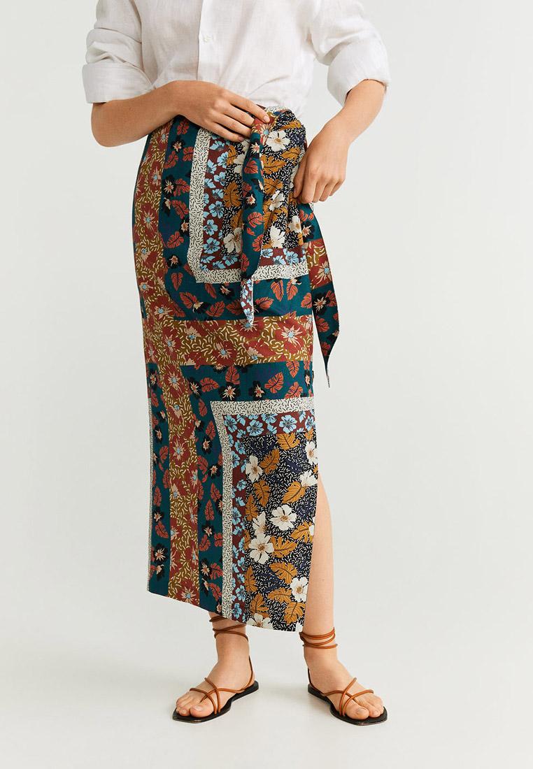 Прямая юбка Mango (Манго) 53043051