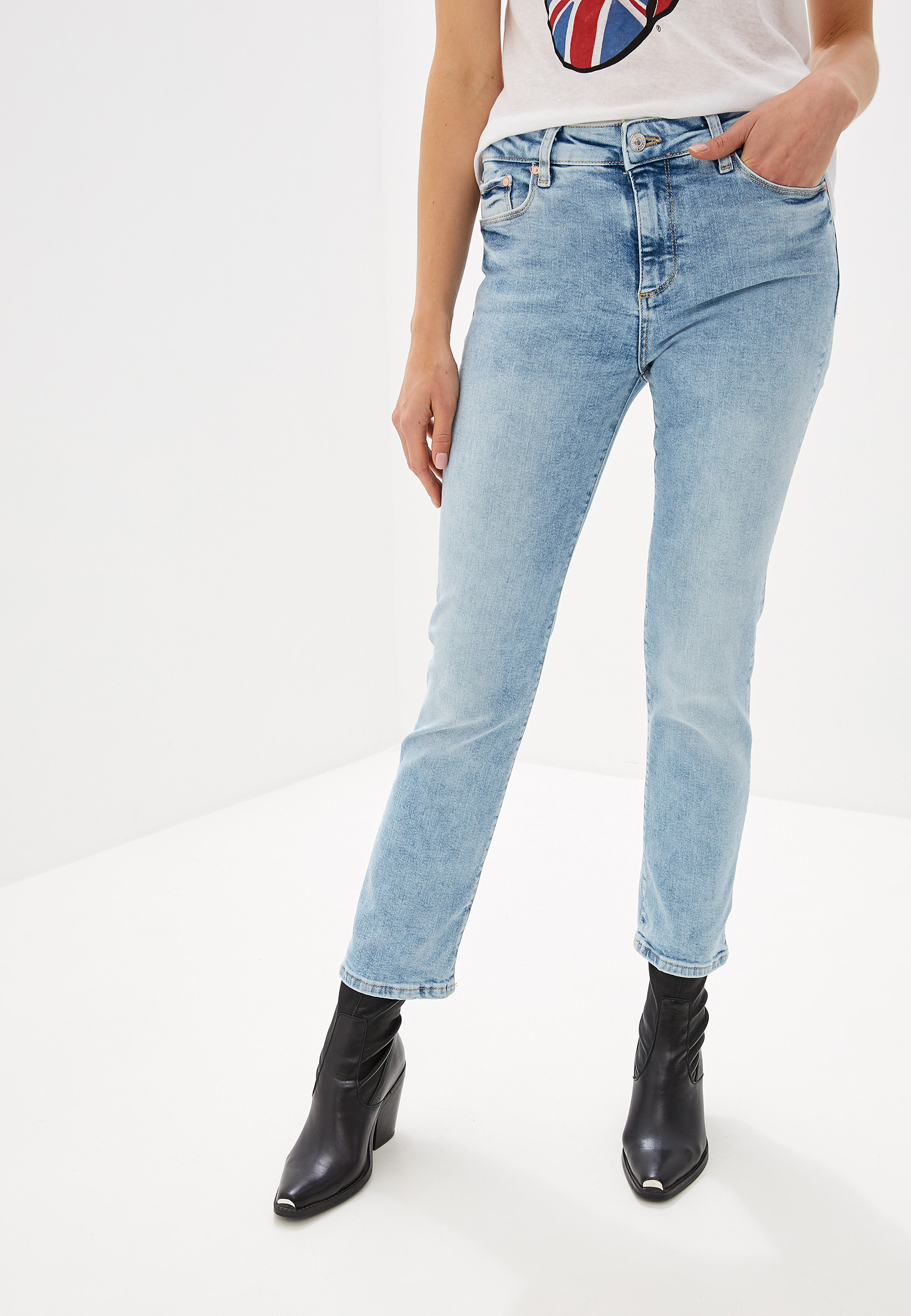 Прямые джинсы Mango (Манго) 53033758