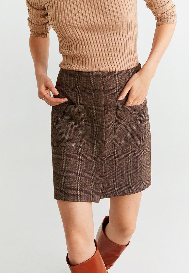 Широкая юбка Mango (Манго) 53055736