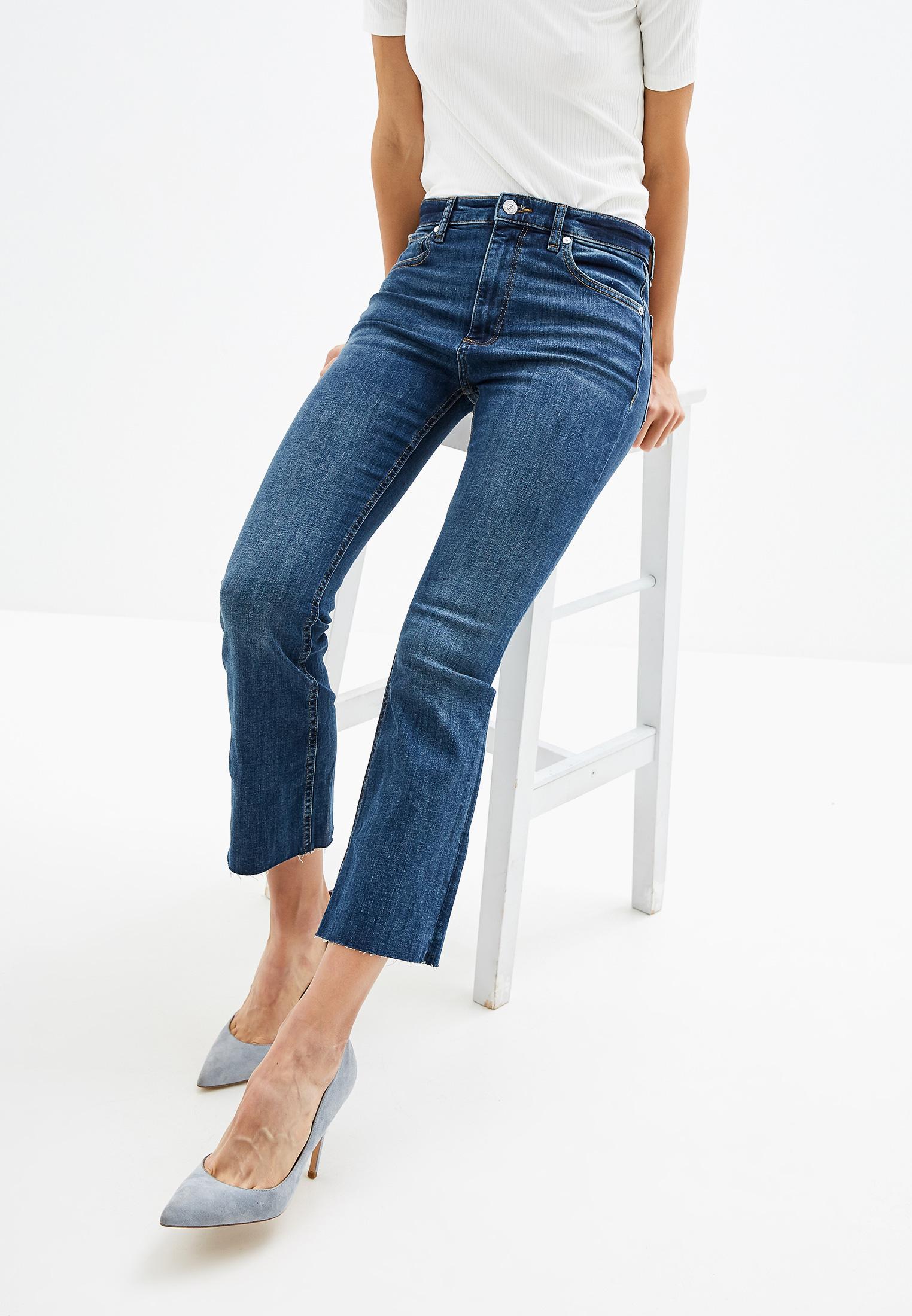 Широкие и расклешенные джинсы Mango (Манго) 53013739