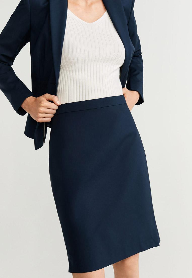 Прямая юбка Mango (Манго) 51093028