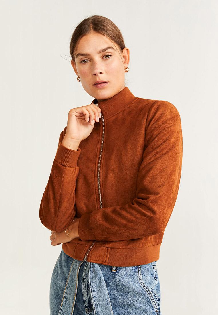 Кожаная куртка Mango (Манго) 53095035