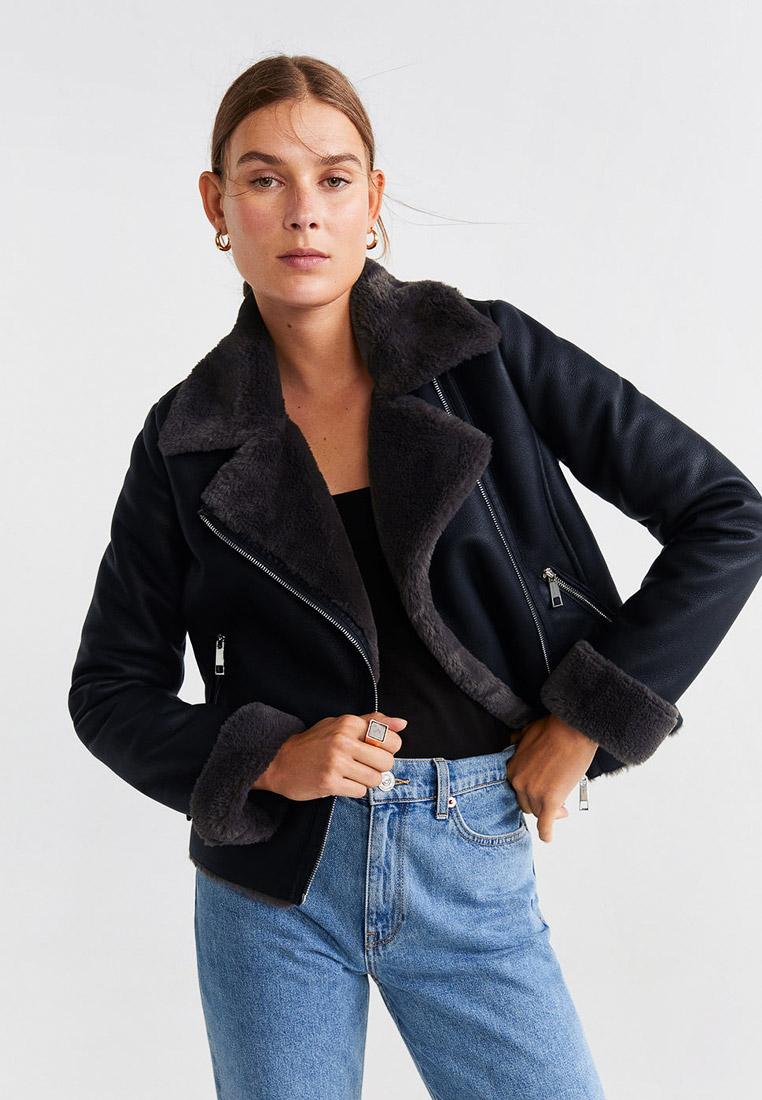 Кожаная куртка Mango (Манго) 53057015