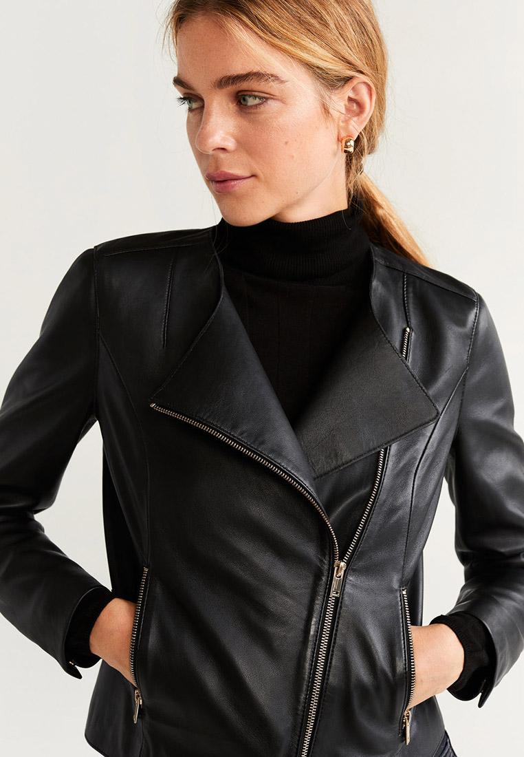 Кожаная куртка Mango (Манго) 53055742