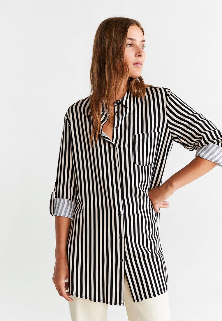 Женские рубашки с длинным рукавом Mango (Манго) 57047655