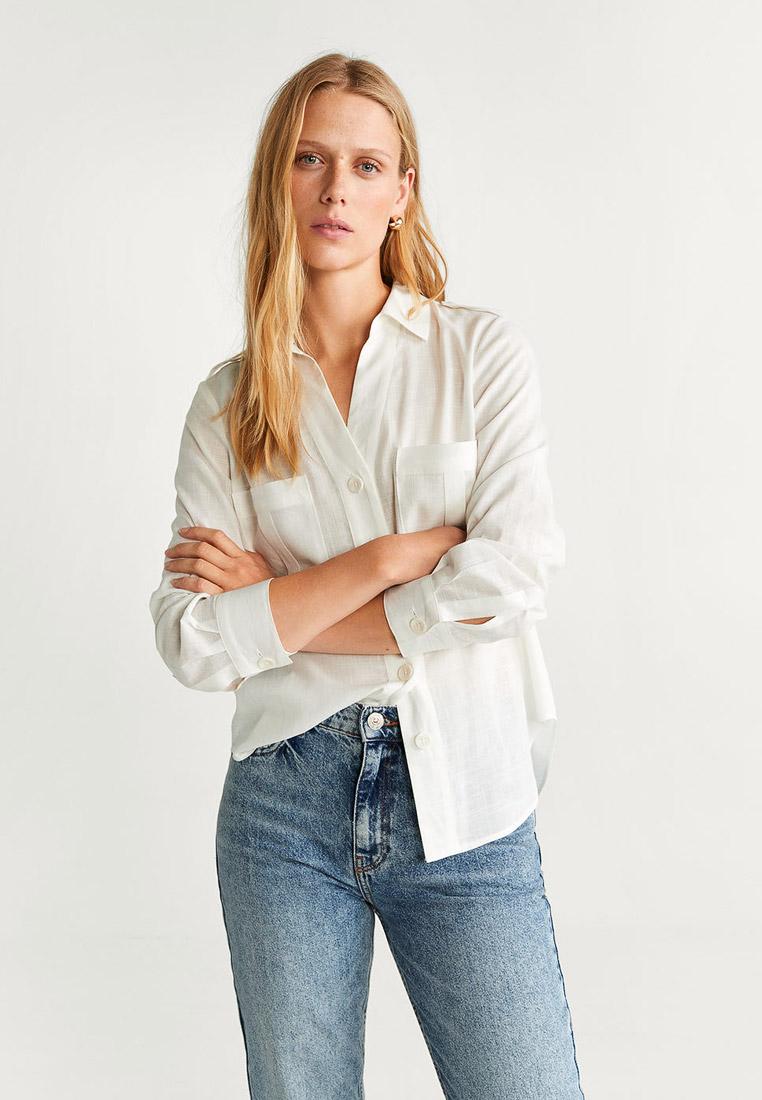 Женские рубашки с длинным рукавом Mango (Манго) 53085773