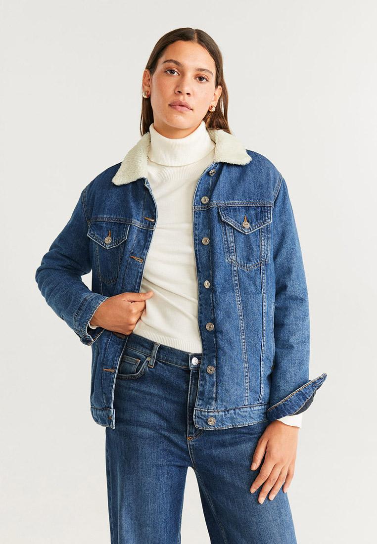Джинсовая куртка Mango (Манго) 57038260