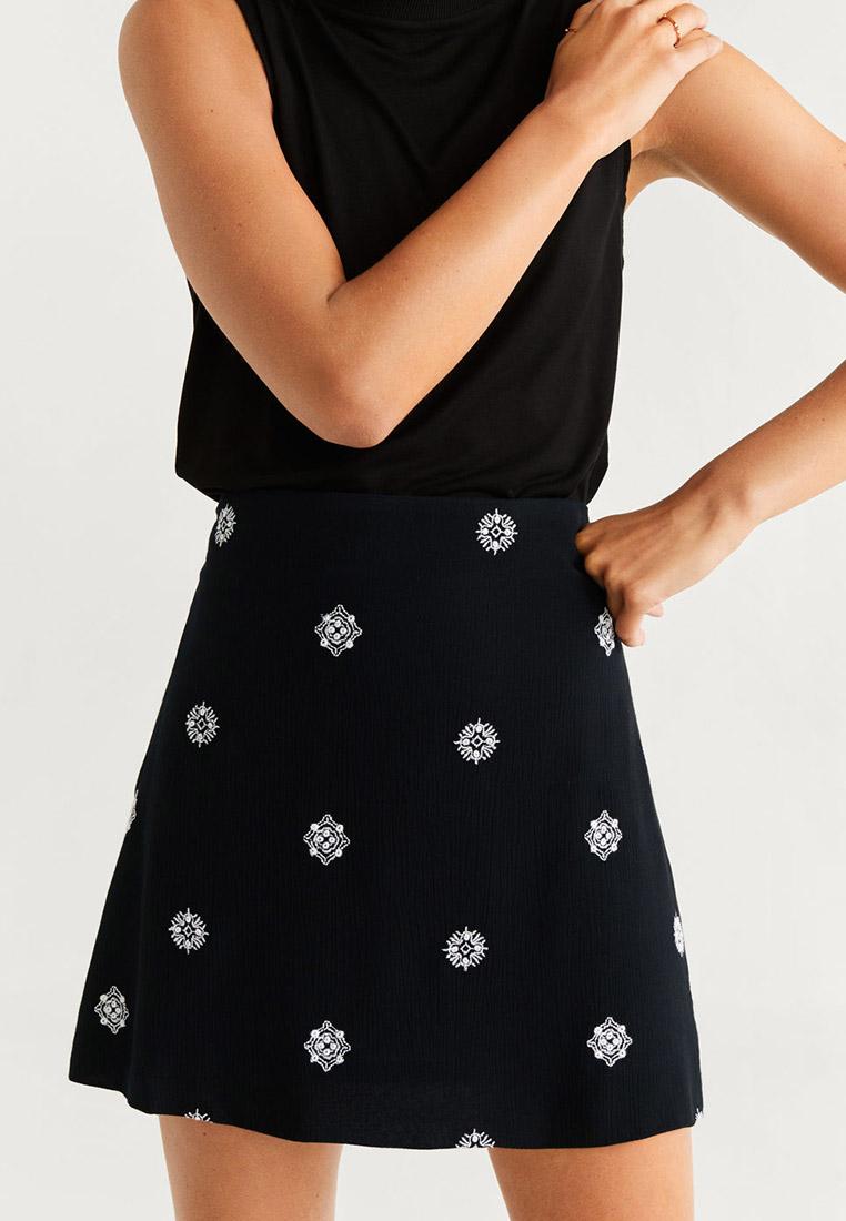 Широкая юбка Mango (Манго) 67030025