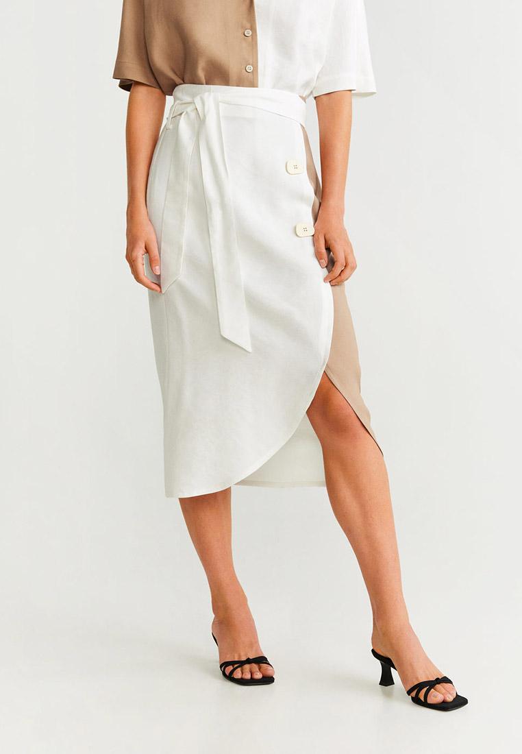 Прямая юбка Mango (Манго) 67040031