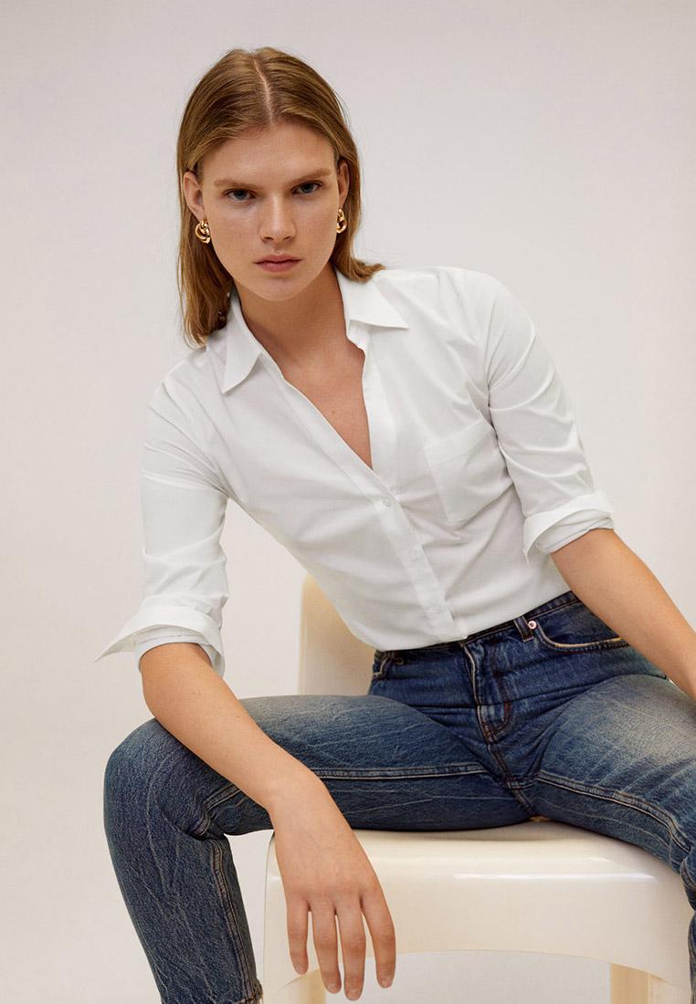 Женские рубашки с длинным рукавом Mango (Манго) 67070579
