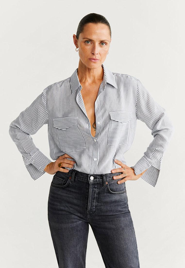 Женские рубашки с длинным рукавом Mango (Манго) 67090612
