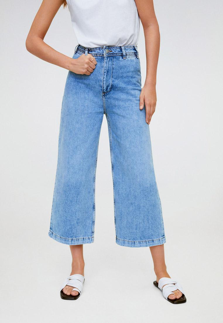 Широкие и расклешенные джинсы Mango (Манго) 67034395
