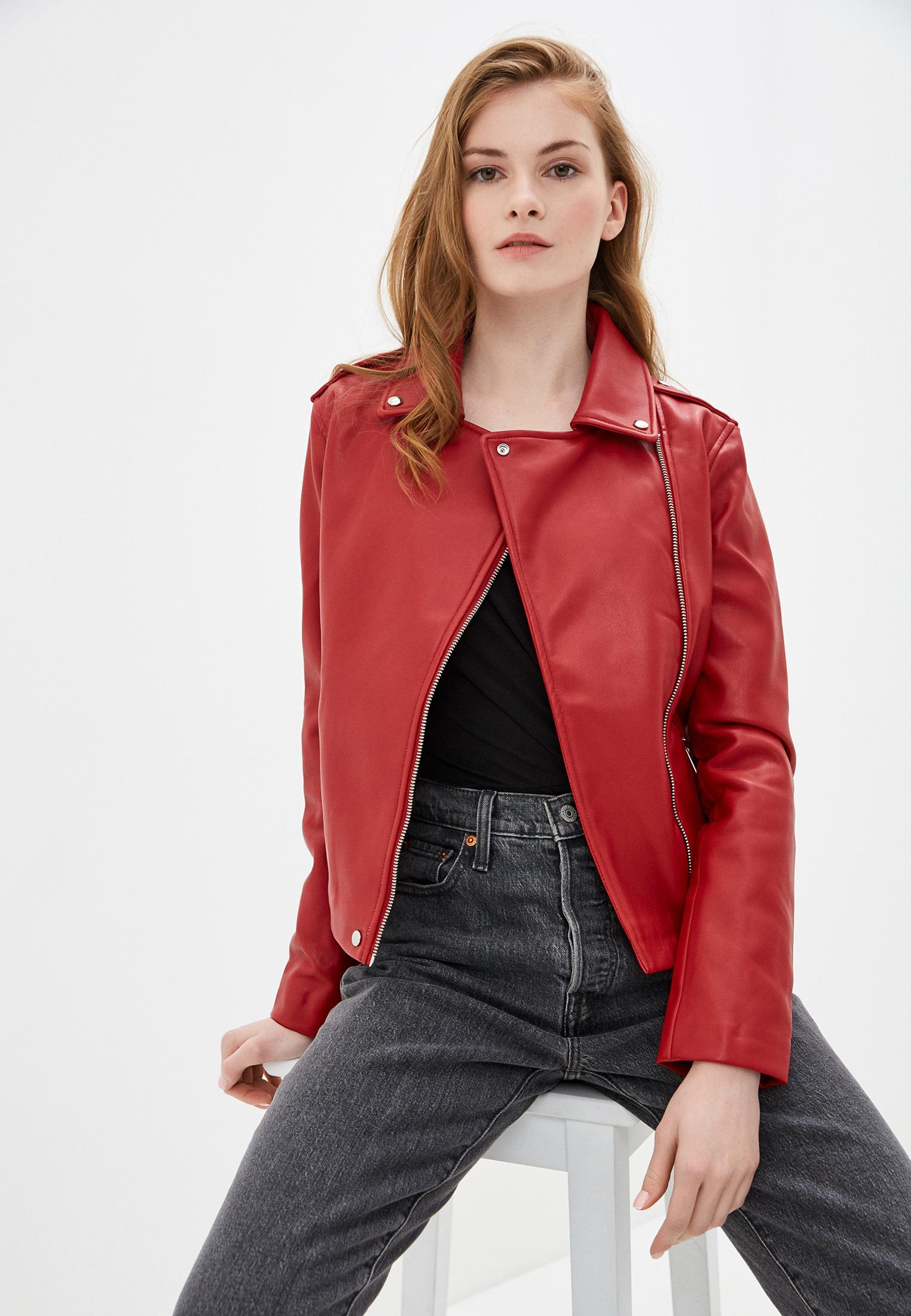 Кожаная куртка Mango (Манго) 67052526