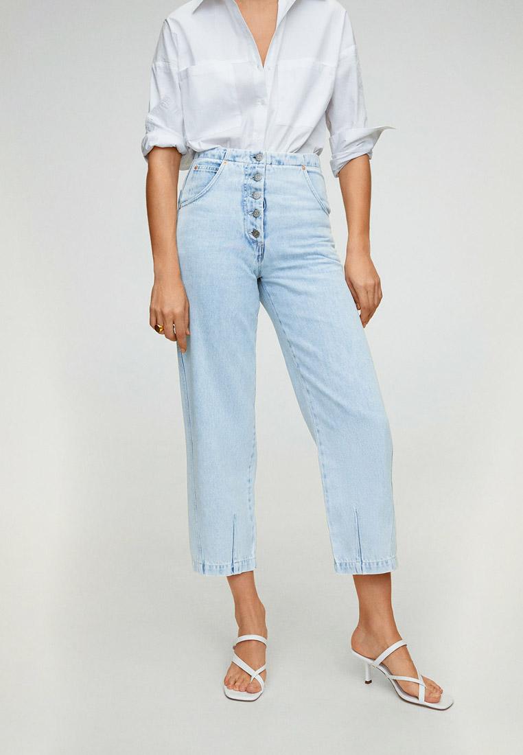 Широкие и расклешенные джинсы Mango (Манго) 67034762