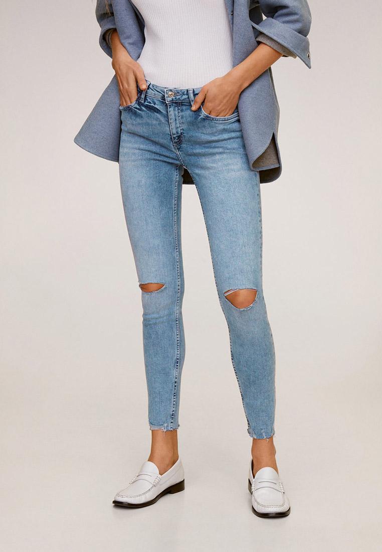 Зауженные джинсы Mango (Манго) 67004757