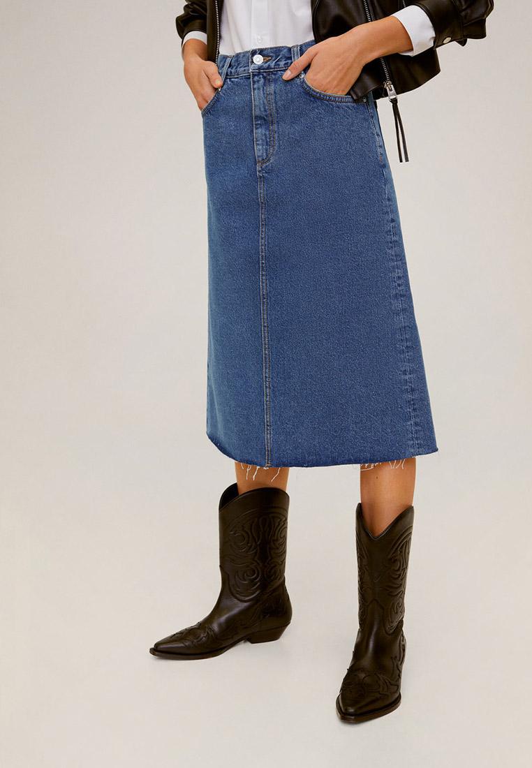 Джинсовая юбка Mango (Манго) 67055714