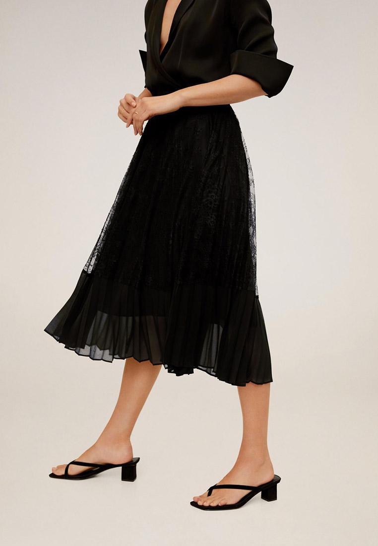 Широкая юбка Mango (Манго) 67065129