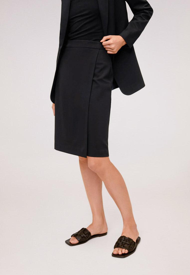 Прямая юбка Mango (Манго) 67074412