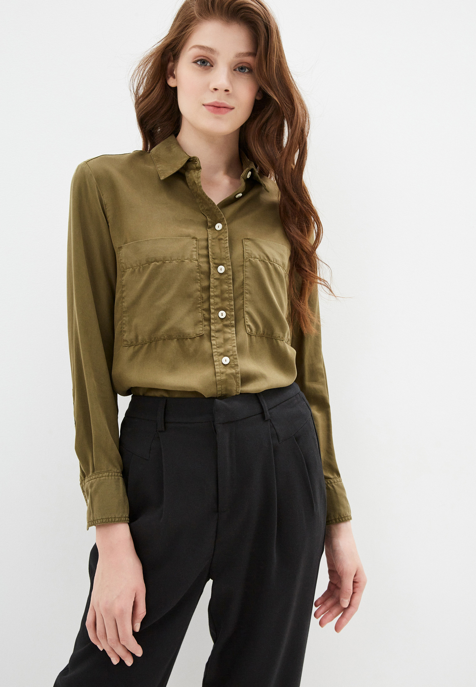 Женские рубашки с длинным рукавом Mango (Манго) 67925971