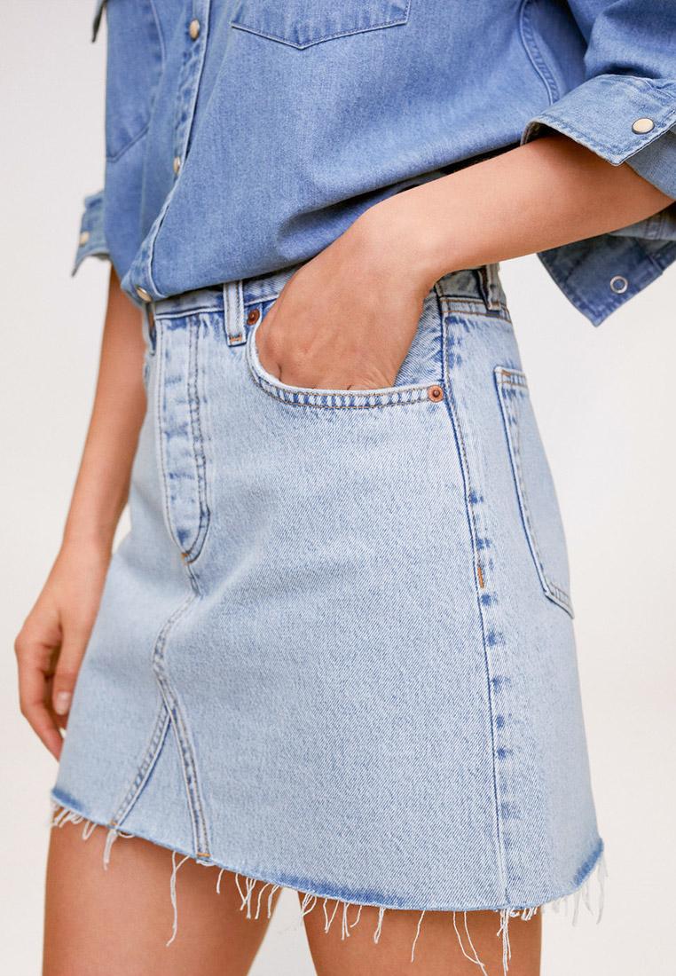 Джинсовая юбка Mango (Манго) 67036717