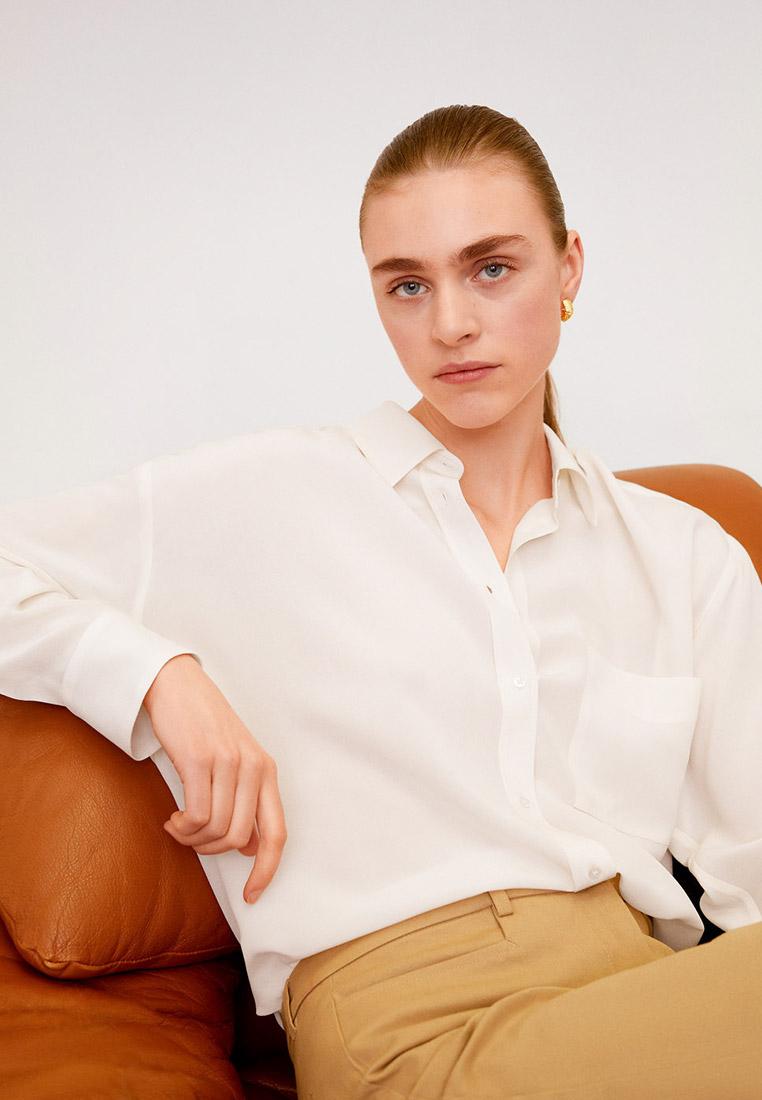 Женские рубашки с длинным рукавом Mango (Манго) 67096718