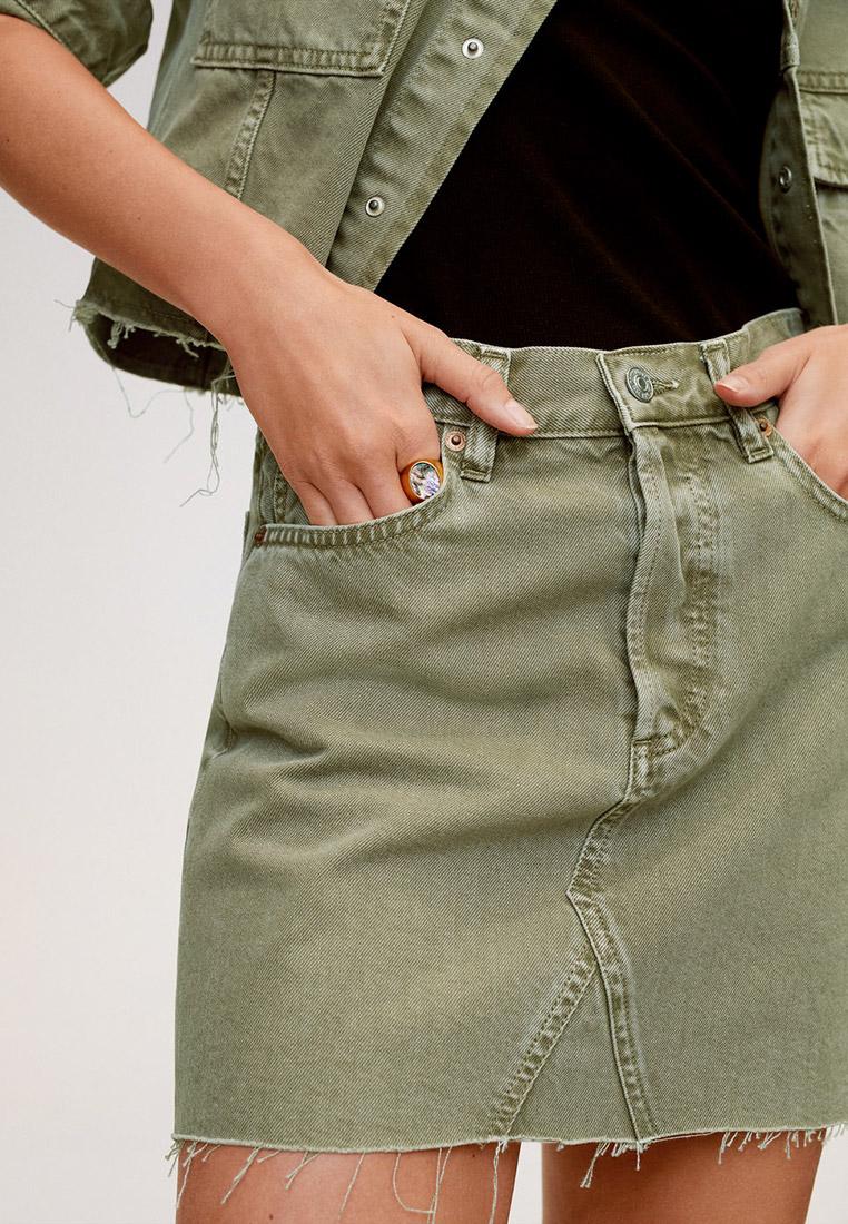 Широкая юбка Mango (Манго) 67076716