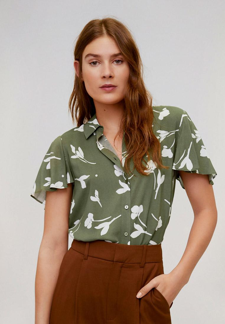 Рубашка с коротким рукавом Mango (Манго) 67087657