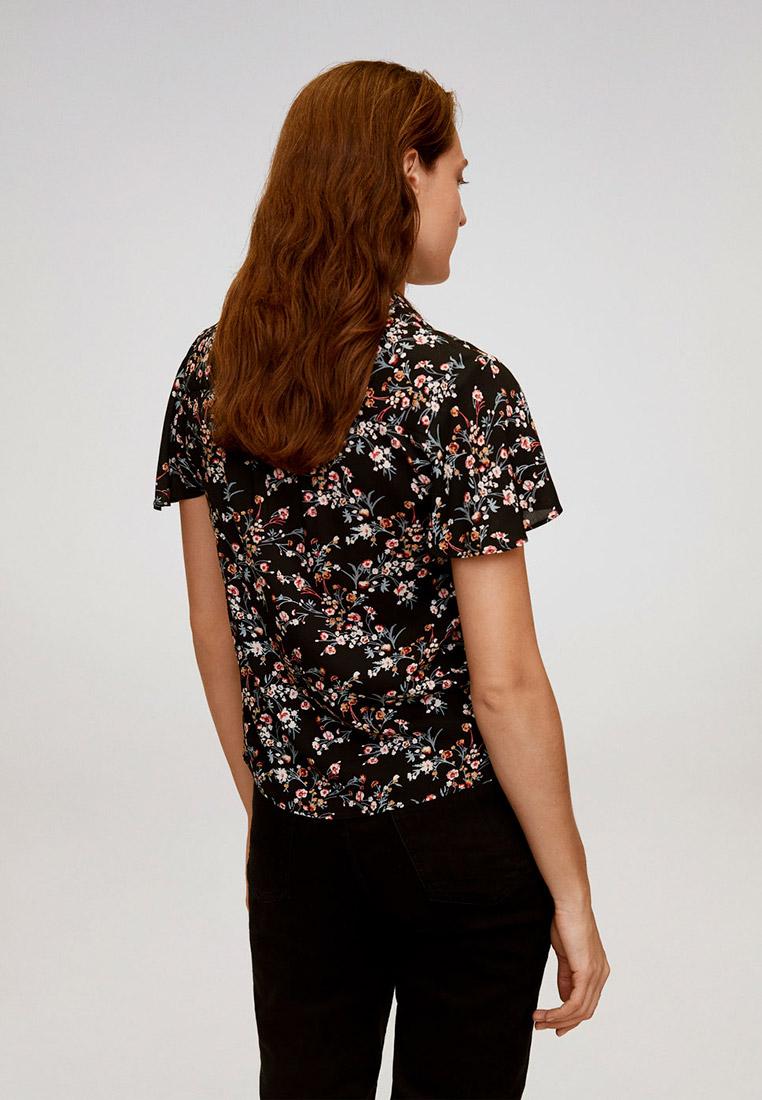 Рубашка с коротким рукавом Mango (Манго) 67087657: изображение 3