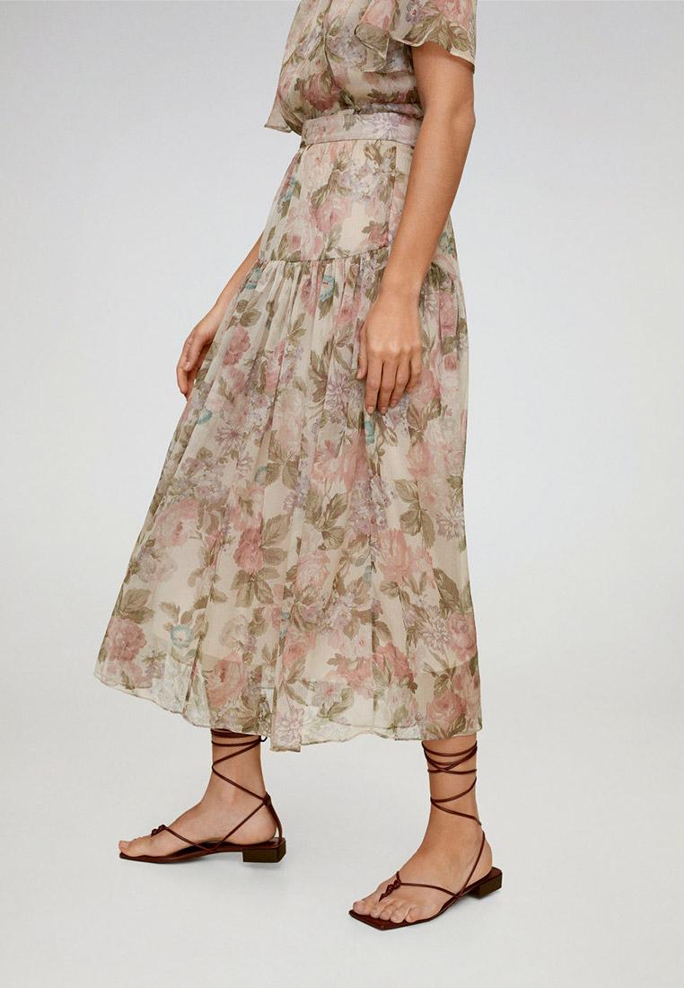 Широкая юбка Mango (Манго) 67097675
