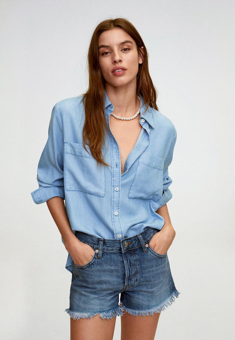 Женские джинсовые шорты Mango (Манго) 67028259