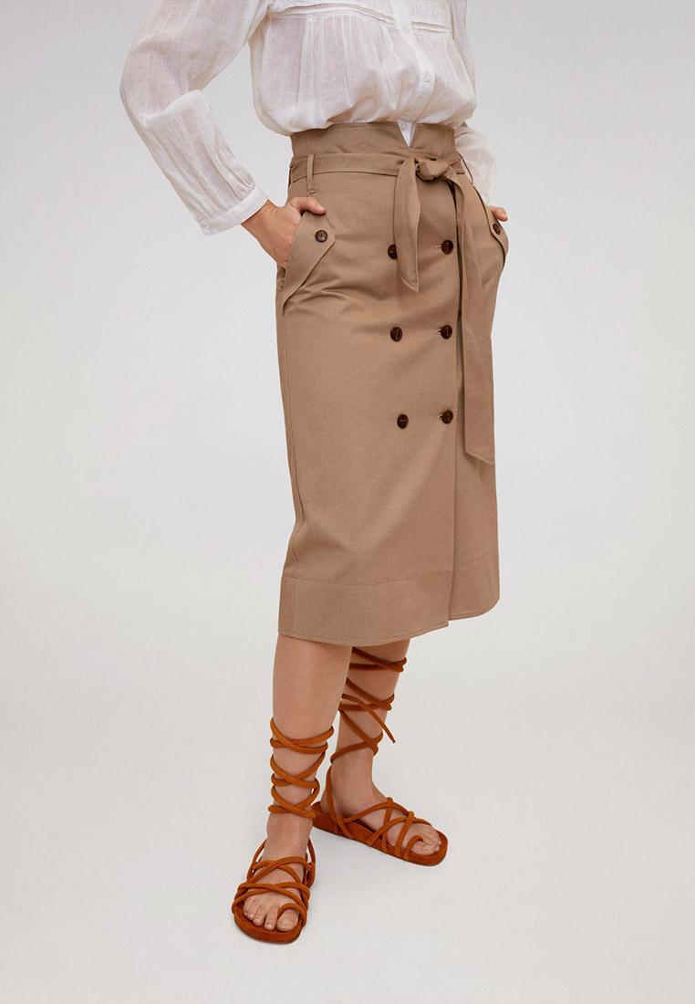 Прямая юбка Mango (Манго) 67050616
