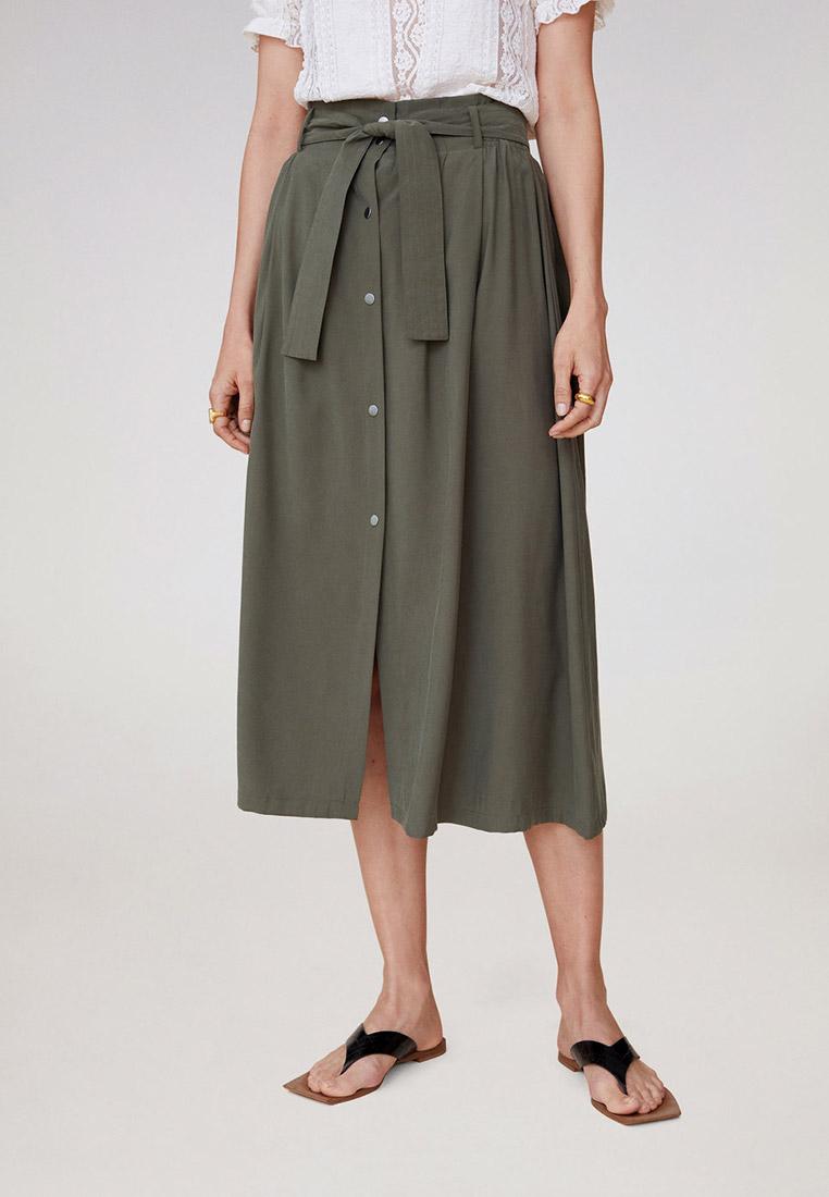 Широкая юбка Mango (Манго) 67049206