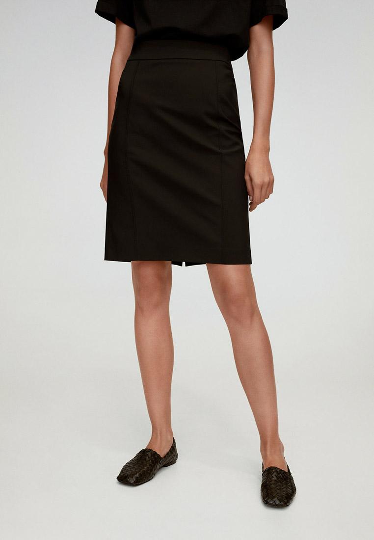 Прямая юбка Mango (Манго) 77052889