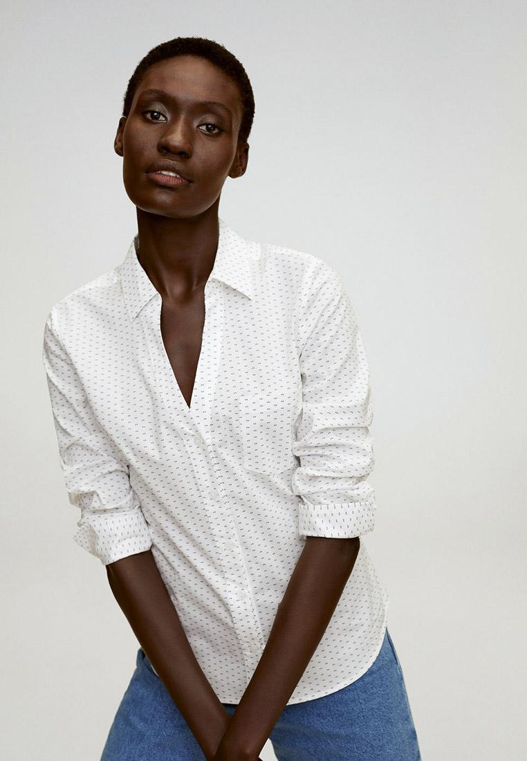 Женские рубашки с длинным рукавом Mango (Манго) 77036304