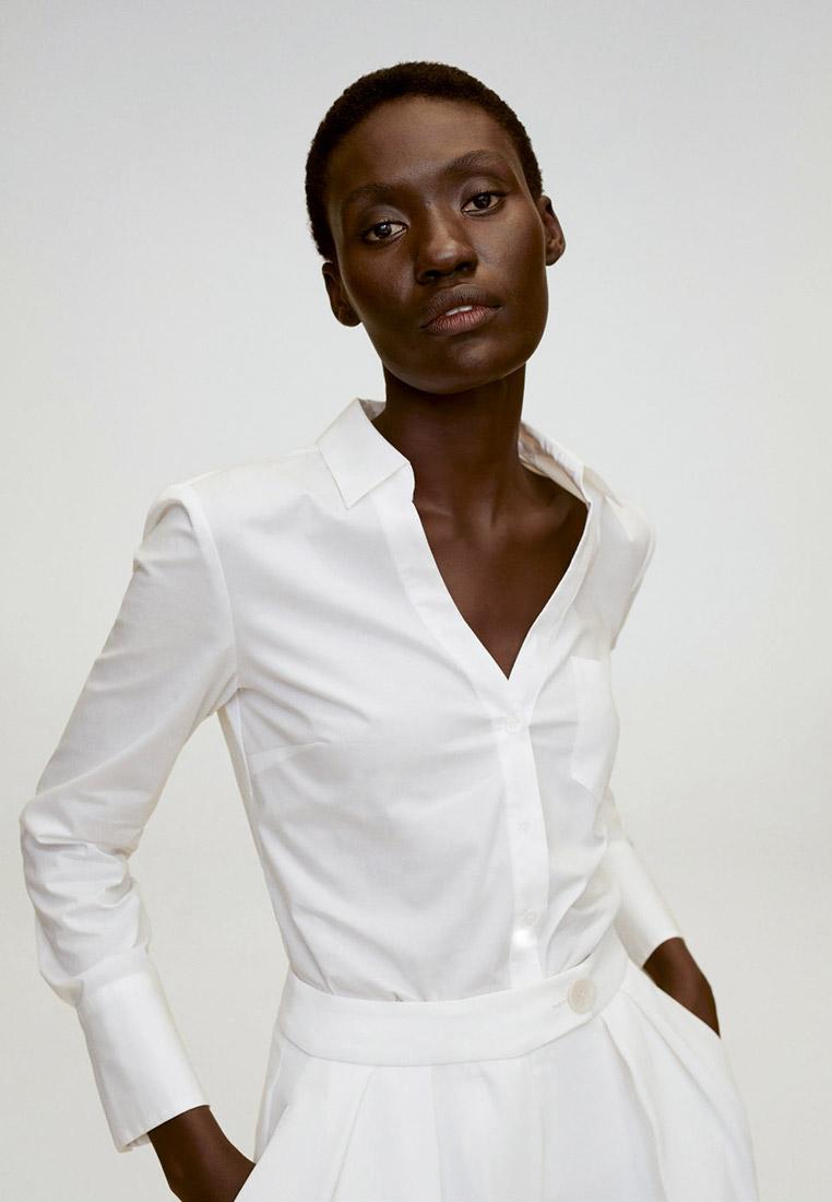Женские рубашки с длинным рукавом Mango (Манго) 77092893