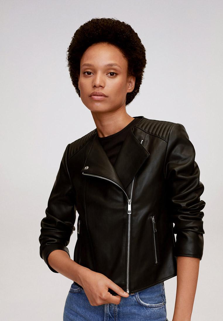 Кожаная куртка Mango (Манго) 77060550