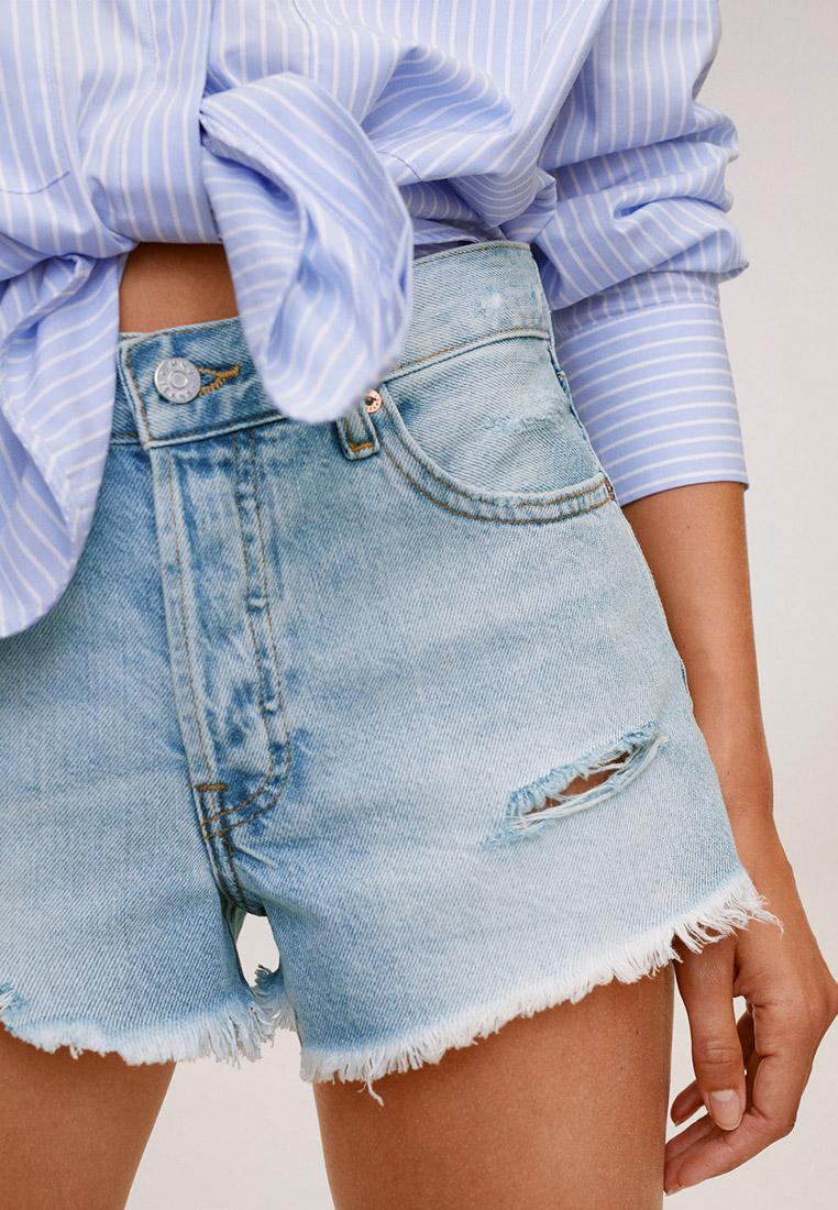 Женские джинсовые шорты Mango (Манго) 77030515