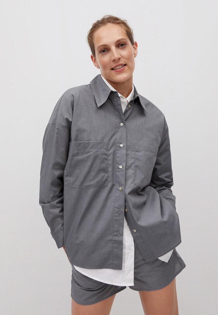 Женские рубашки с длинным рукавом Mango (Манго) 77054756