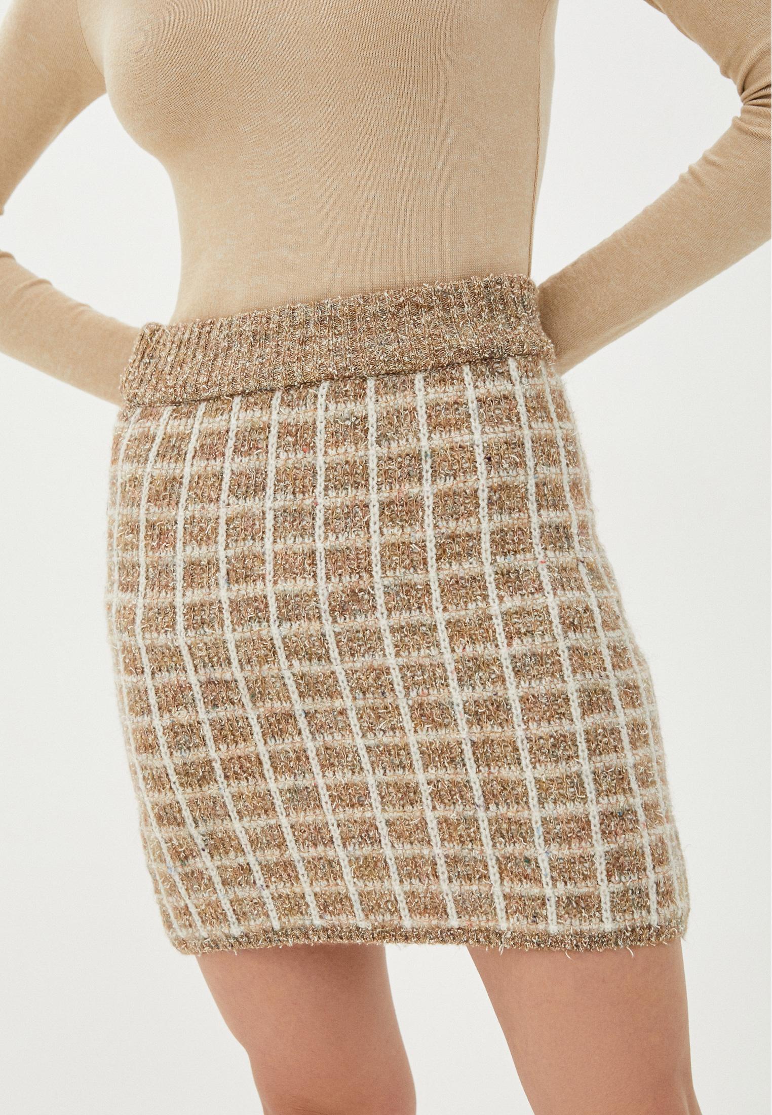 Прямая юбка Mango (Манго) 77065943