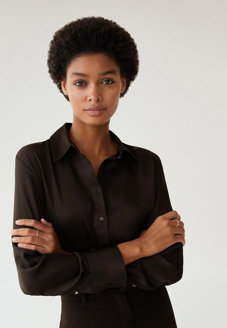 Женские рубашки с длинным рукавом Mango (Манго) 77044003