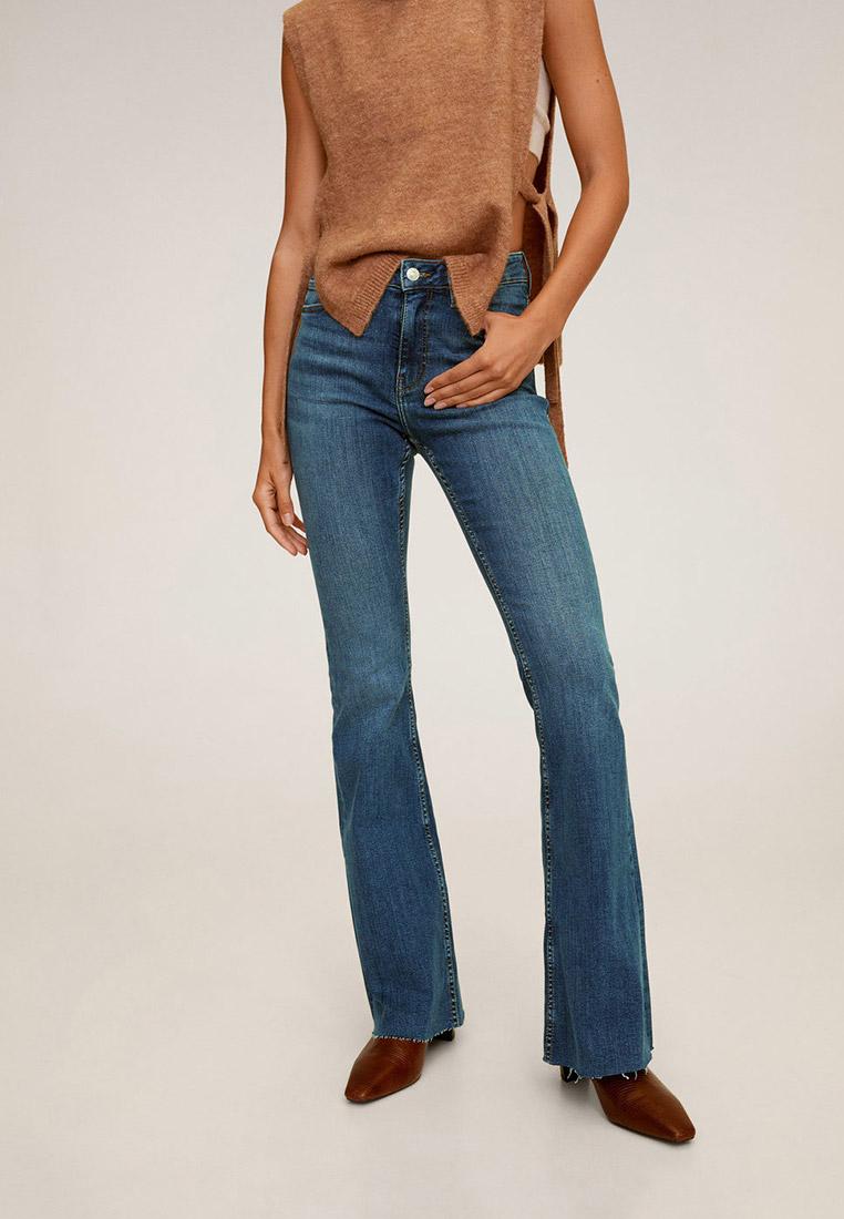 Широкие и расклешенные джинсы Mango (Манго) 77095910
