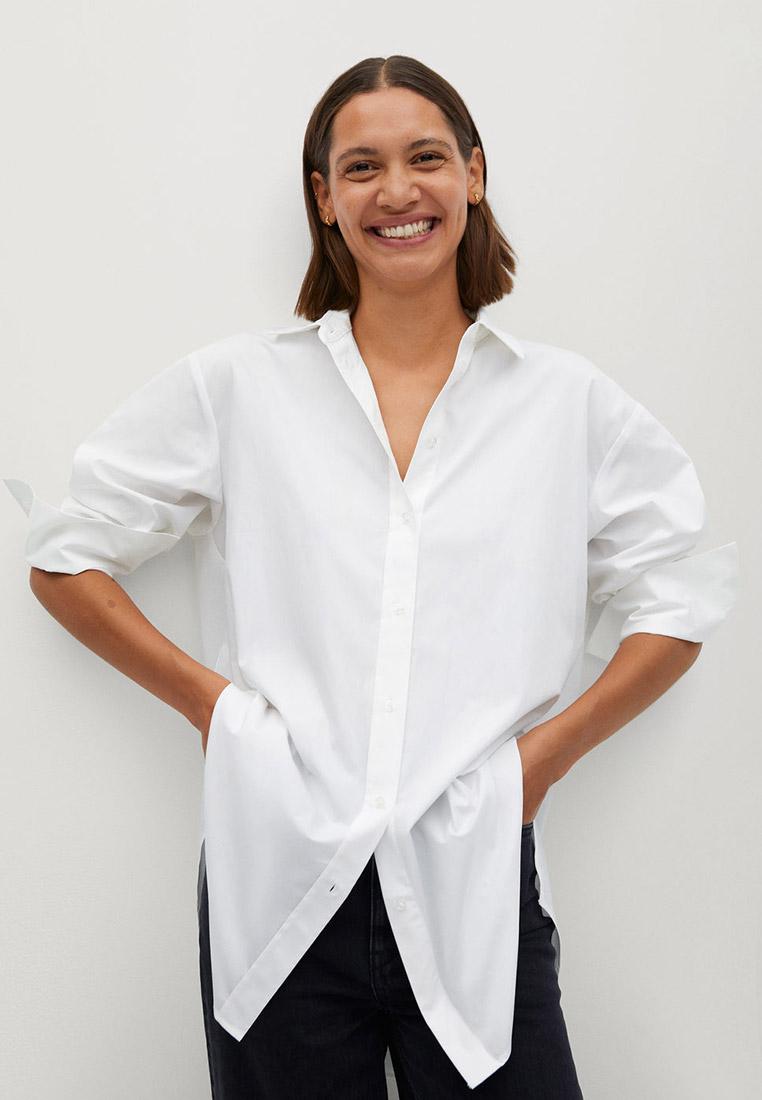 Женские рубашки с длинным рукавом Mango (Манго) 77076708