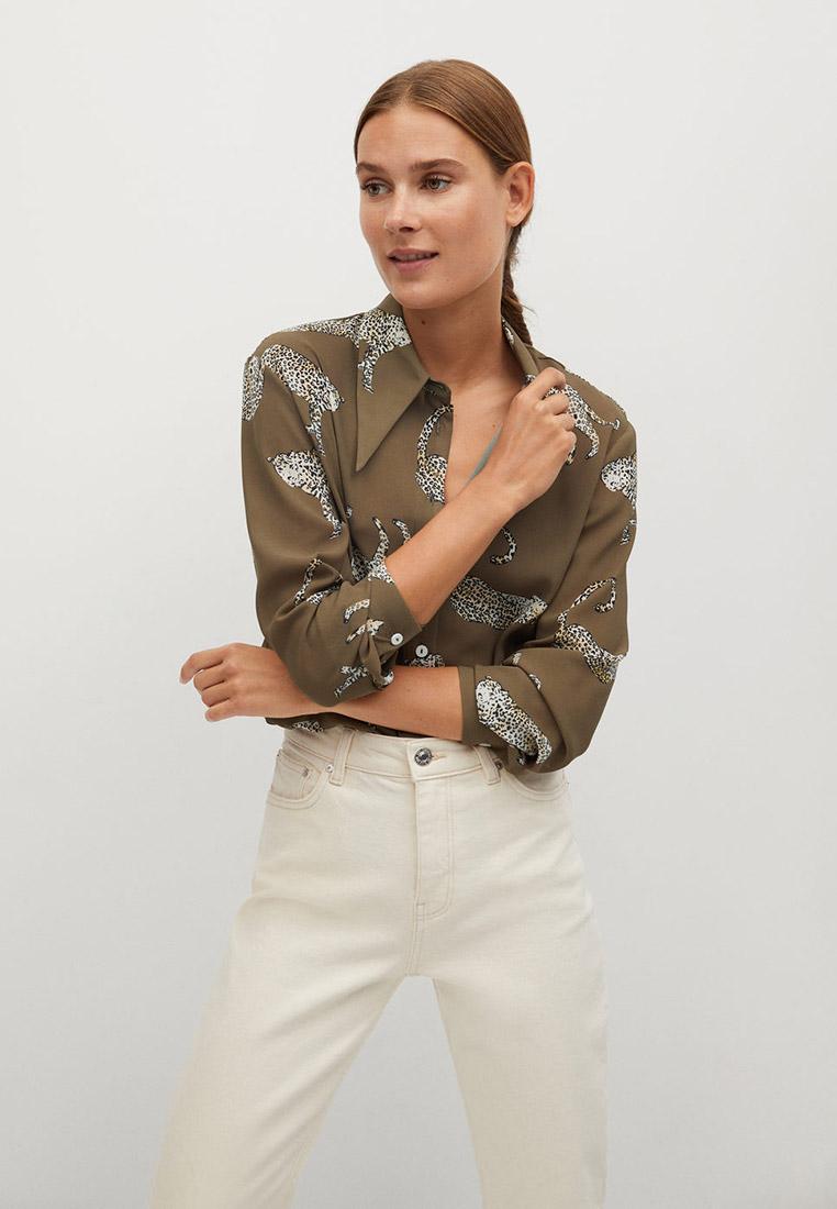 Женские рубашки с длинным рукавом Mango (Манго) 77054423