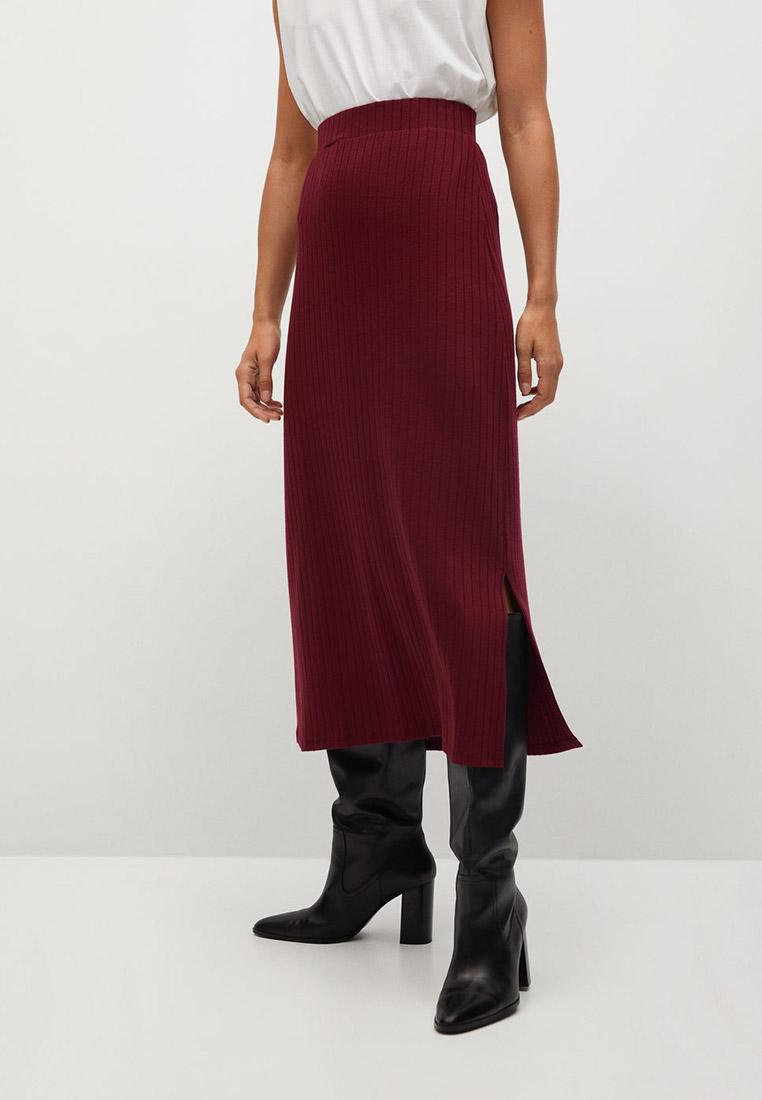 Прямая юбка Mango (Манго) 77095941