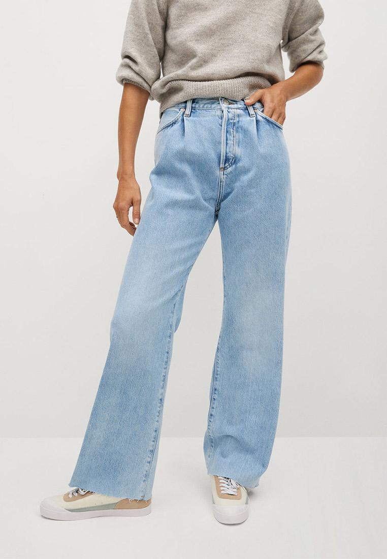 Широкие и расклешенные джинсы Mango (Манго) 77046712