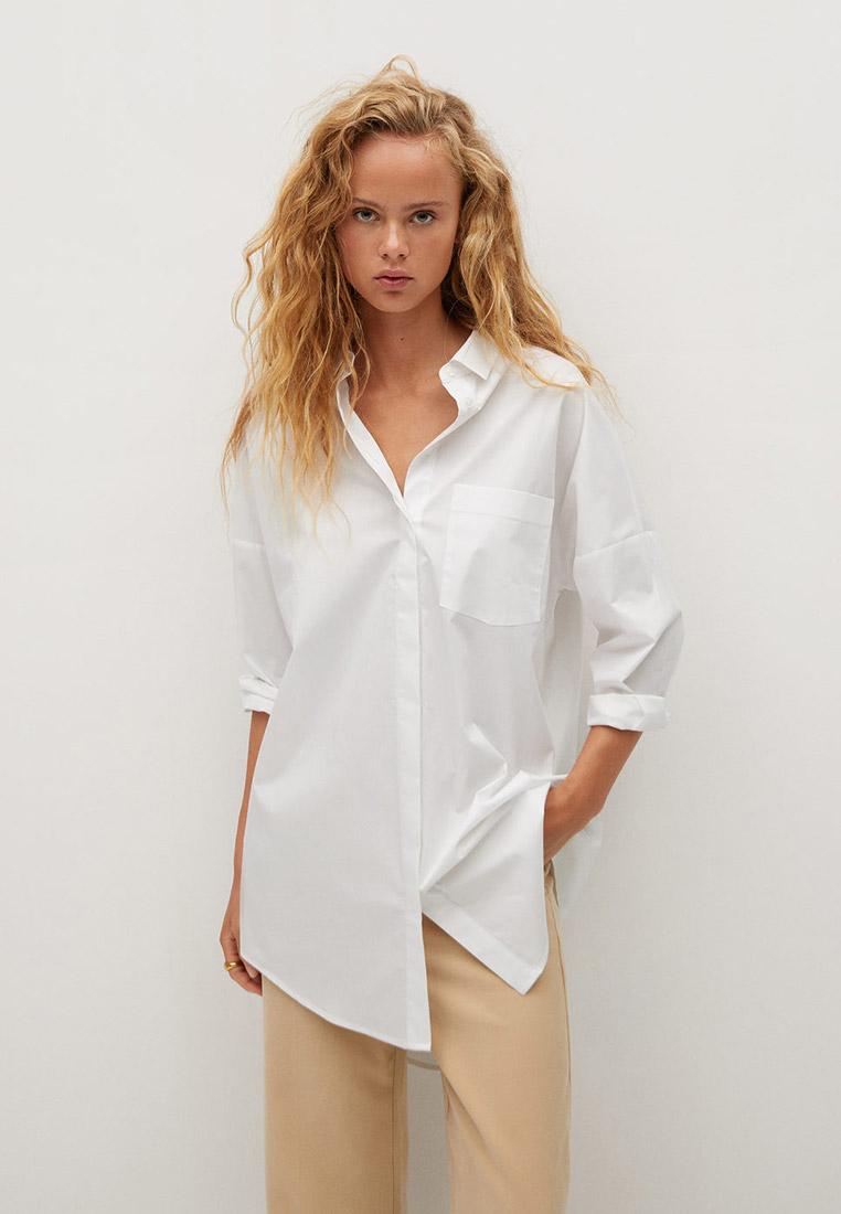 Женские рубашки с длинным рукавом Mango (Манго) 77075949